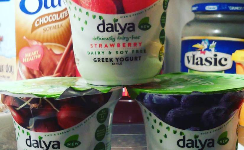 Scrumptious Saturday: Daiya Vegan Greek Yogurt
