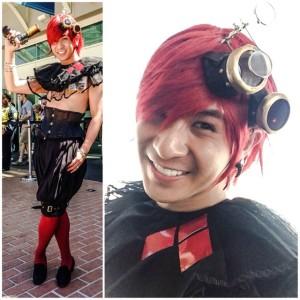 Steampunk Genderbent Harley Quinn
