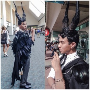 Genderbent Maleficent