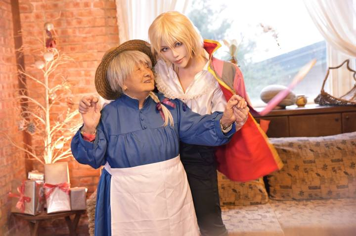 Cosplaying With Your Grandma