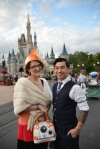 DisneyBounding - Dapper Day 2016 BB8 and R2D2 - Very Nerdy Curly