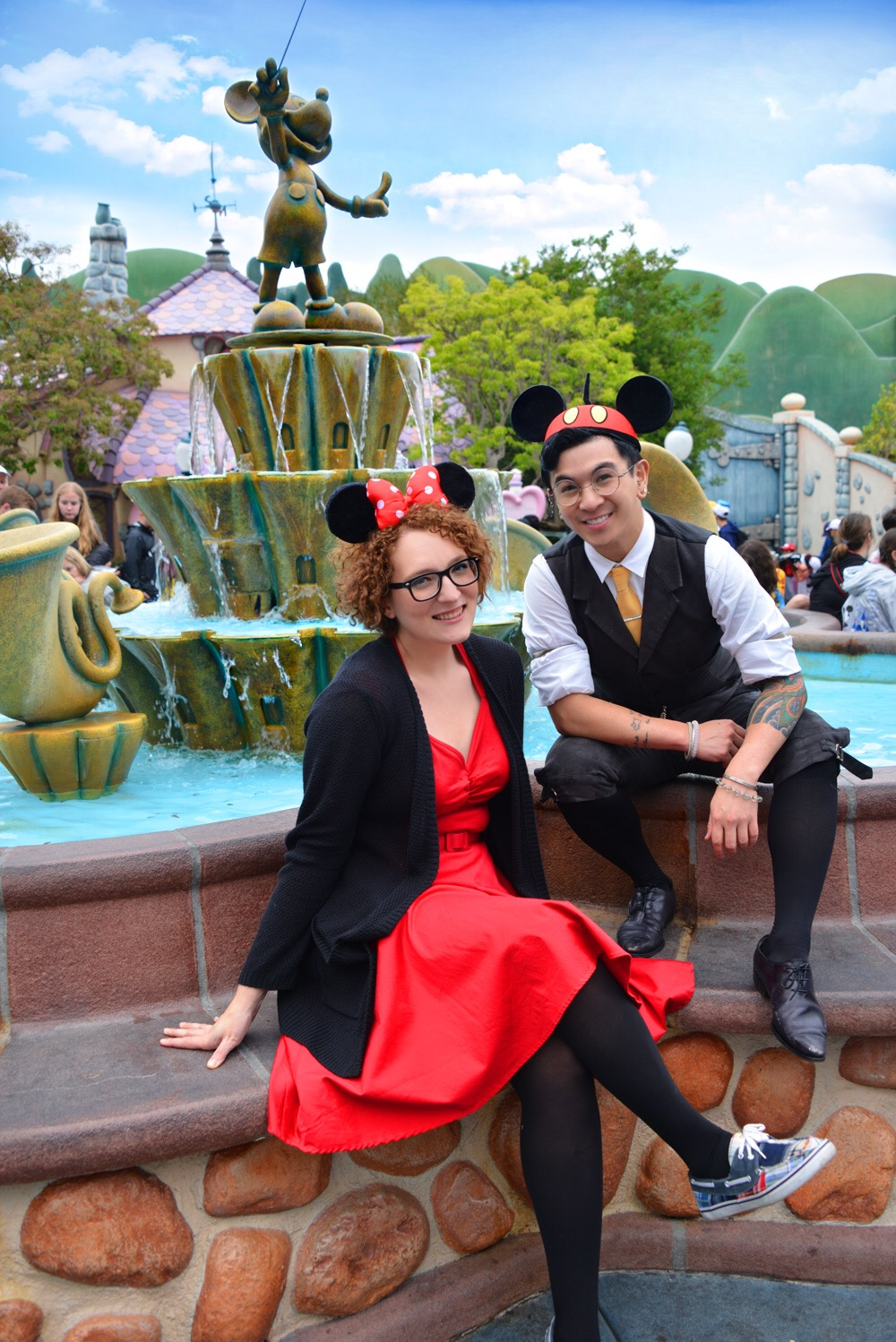 DisneyBounding - Very Nerdy Curly - www.verynerdycurly.com